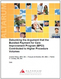 Debunking the Argument that the Bundled Payment for Care Improvement Program (BPCI) Contributed to Higher Procedure Volumes