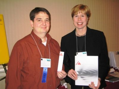 Photo - Randy Johnson and Liz Ritter at the STC Awards in Washington, D.C.
