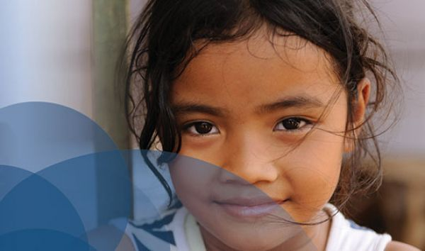Photo of little girl for Decent Care Values project