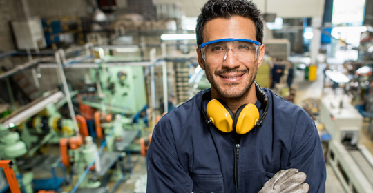 Worker in high-skilled manufacturing