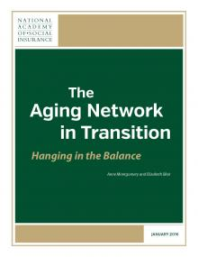 The Aging Network in Transition: Hanging in the Balance