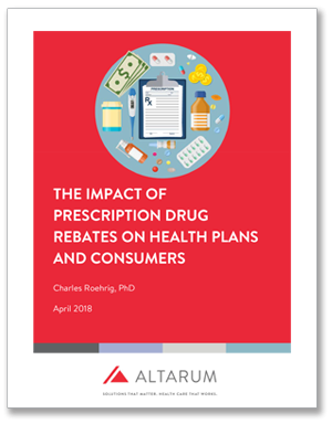 The Impact of Prescription Drug Rebates on Health Plans and Consumers